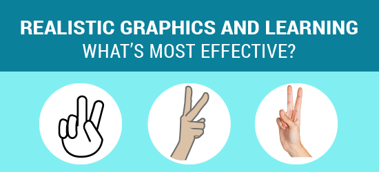 Realistic Graphics and Learning: What's most effective?