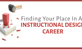 Finding your place in instructional design