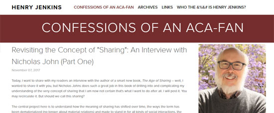 Confessions of an ACA-Fan