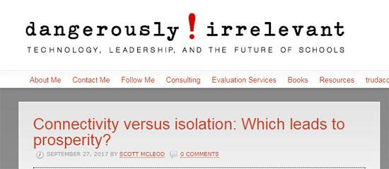 Dangerously Irrelevant Blog