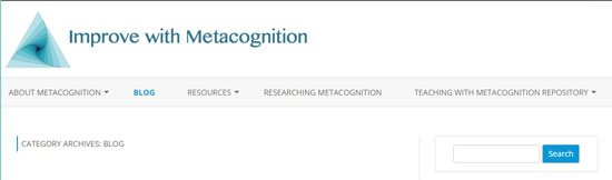 Improve with Metacognition Blog