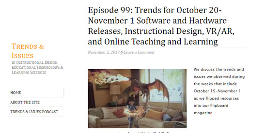 Trends and Issues Blog