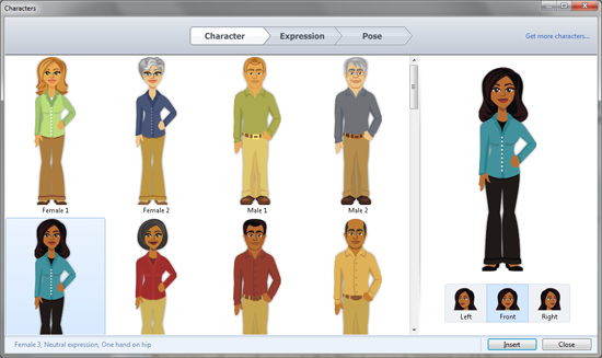 articulate-characters