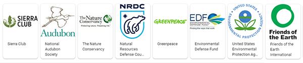 environmental organization logos
