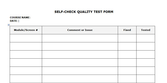 How To Quality Check Your Own eLearning