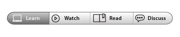 icons in a menu bar interface