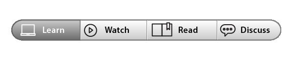 icons in a menu bar interface