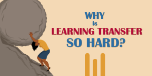 Why is learning transfer so hard?