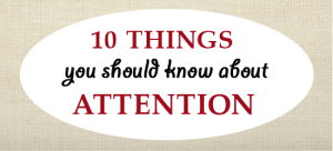 10 Things About Attention You Should Know