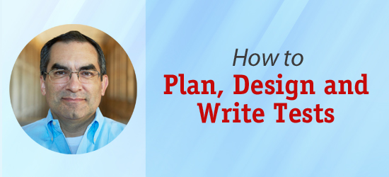 Planning, designing and writing test items