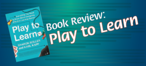 Book Review: Play to Learn