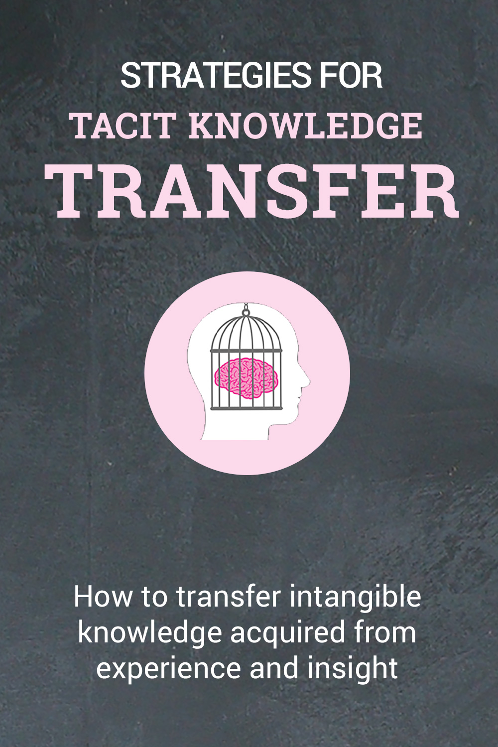 Strategies For Tacit Knowledge Transfer