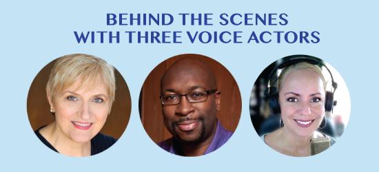 ELC 044: Behind The Scenes With Three Voice Actors/Artists