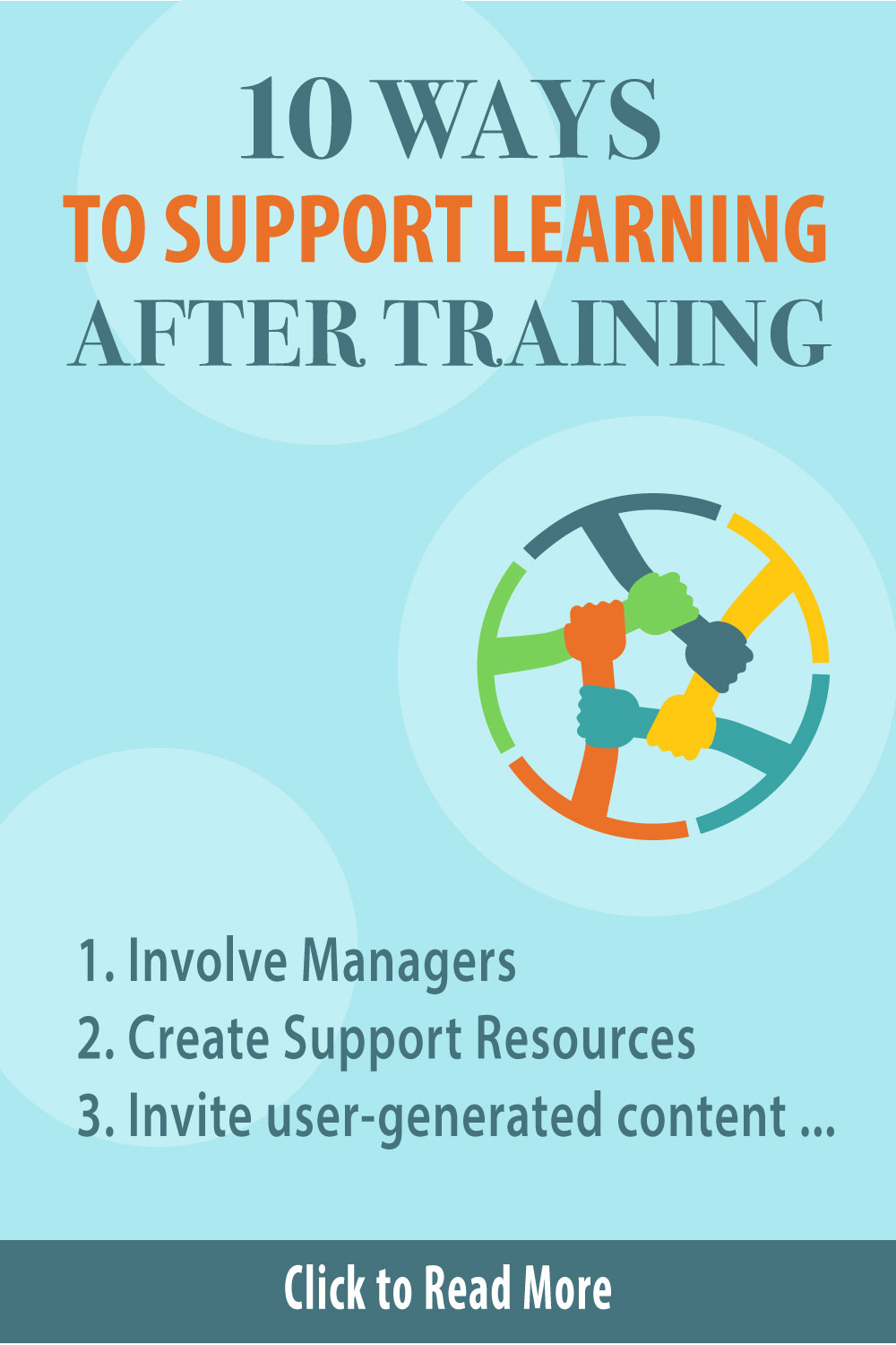 10 Ways to Support Learning after Training