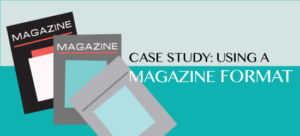 Case Study: Using a Magazine Format for eLearning