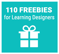110 freebies for learning designers
