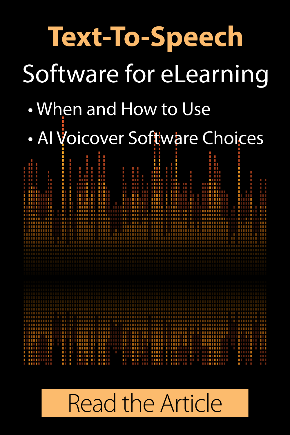 Text-To-Speech Software For eLearning