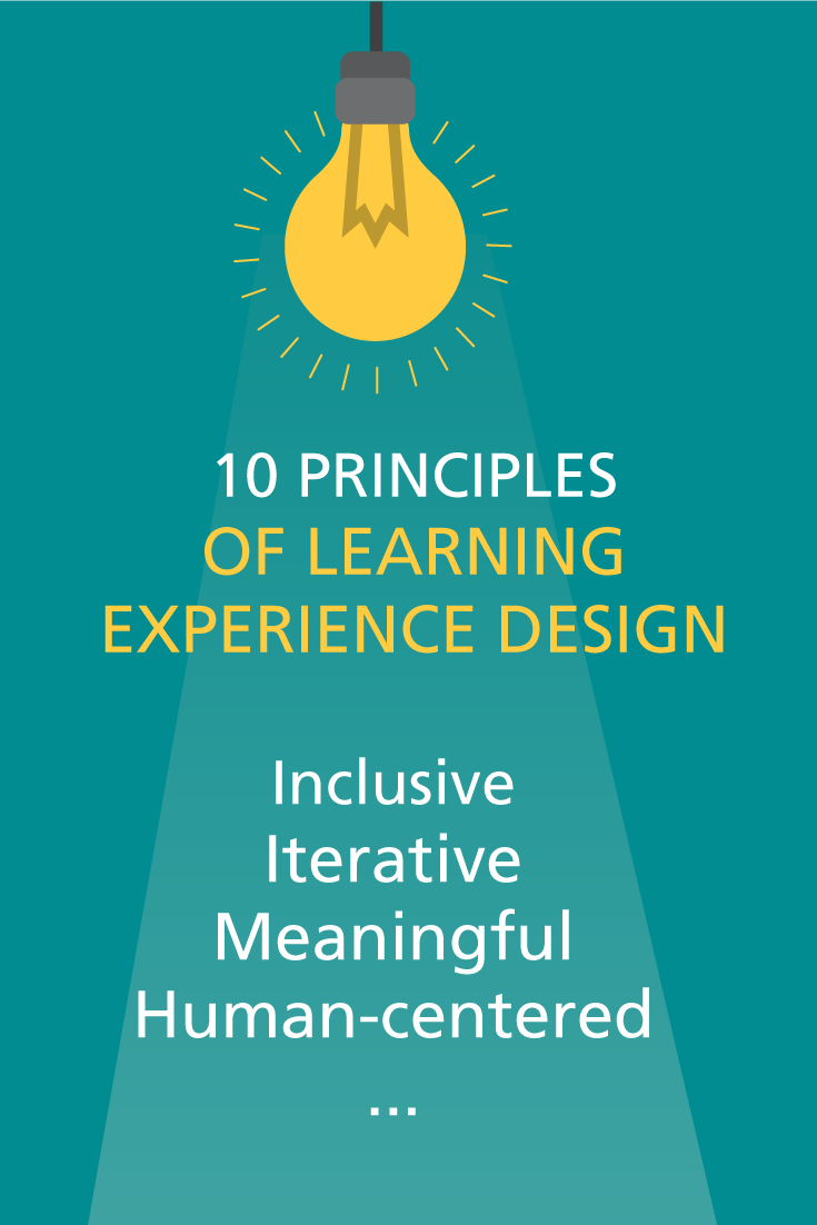 10 Principles of Learning Experience Design