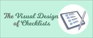 Visual Design of Checklists
