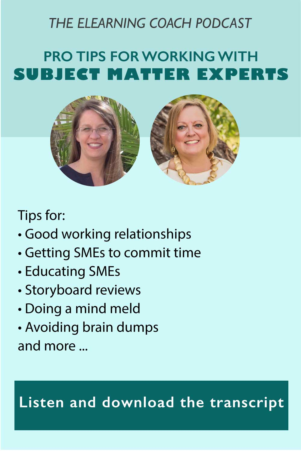 ELC 065: Pro Tips For Working With Subject Matter Experts