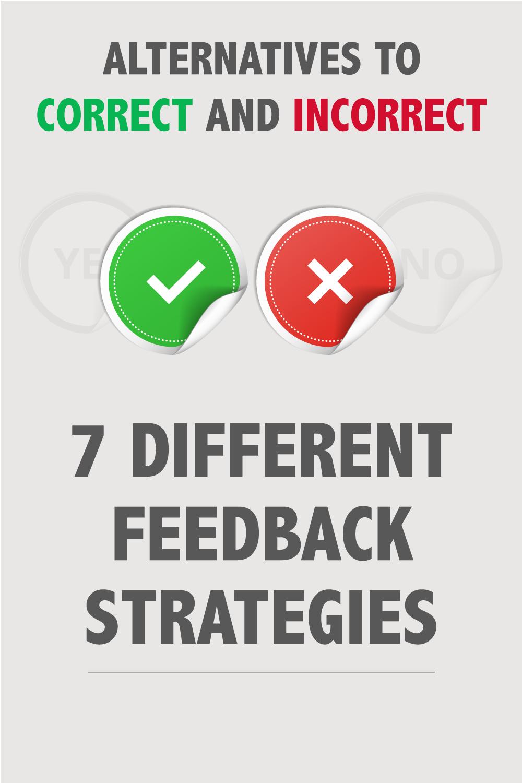 Alternatives to Correct and Incorrect