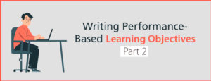 Writing Performance Objectives Part 2