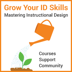 grow your skills at mastering instructional design