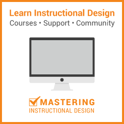 learn instructional design in a community